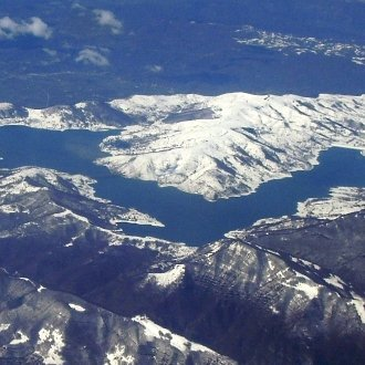 Le foto di Terranera - Campotosto dall'alto