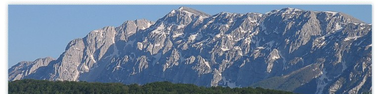 Terranera OnLine - Il Monte Sirente da Terranera